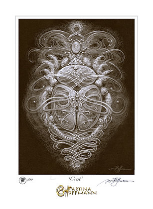 MH Digigraphie, Limited Edition Fine Art Print on Paper, small, sepia - CREST