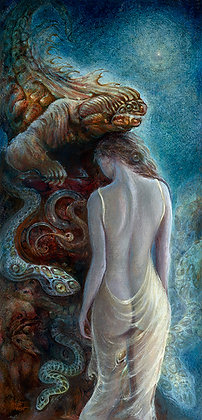 MH limited Edition Print on Canvas - BEAUTY & THE BEAST