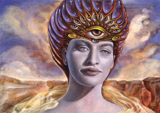 "Art Card ""Muse of Conscious Awakening"" Hoffmann"