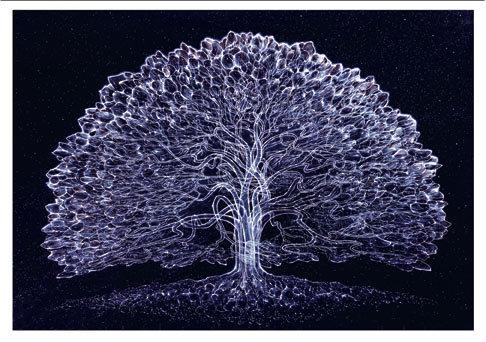 RV Art/Note Card - Celestial Tree
