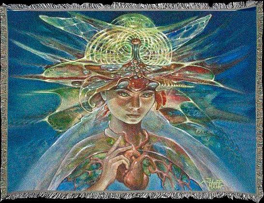 MH Art Blanket - 'Gayatri'