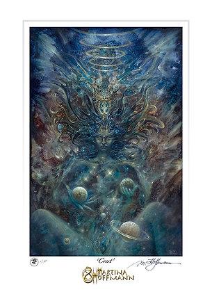MH Digigraphie, Limited Edition Fine Art Print on Paper, medium size - CREATRIX