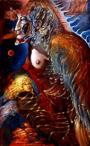 Mother Angel & Child | M. Hoffmann