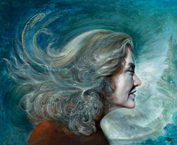 Portrait of Cat (Spirit Breath) | Martina Hoffmann