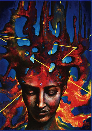 "Art Card ""Trance Formation"" Hoffmann"