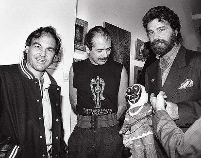 Oliver Stone, Carlos Santana et Robert W