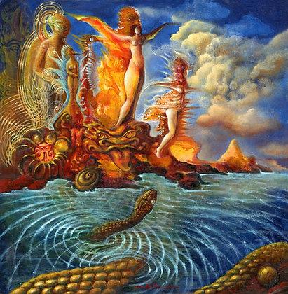 MH Limited Edition Print on Canvas - ISLA DE LAS MUJERES