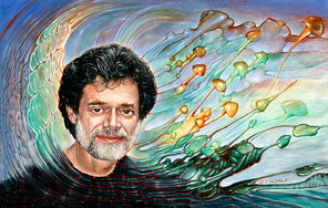 Portrait of Terence McKenna