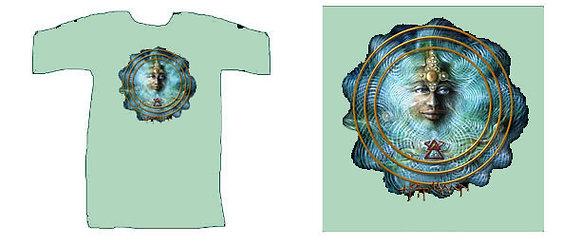 MH Men's T-Shirt, moss green - 'Spirit'