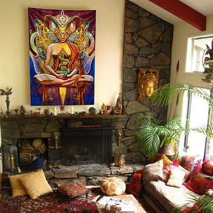 MH Tapestry - ALIEN ASCENSION, Large size