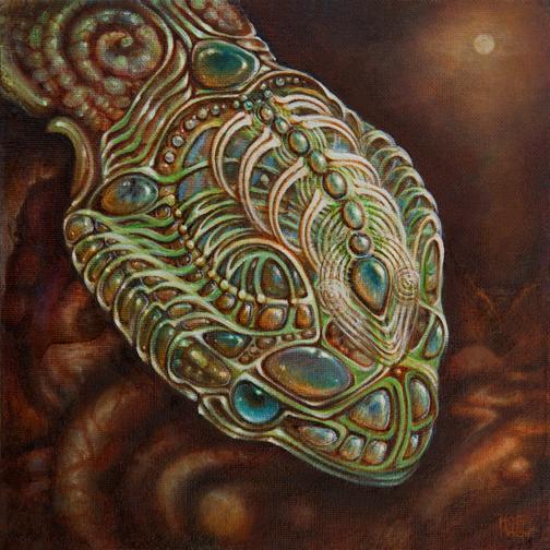 Alien Head | Martina Hoffmann