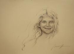Portrait scetch Of Sophia_web