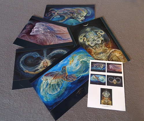 MH - NEW- Large Art Cards - Set #1 - Selection of 5 images