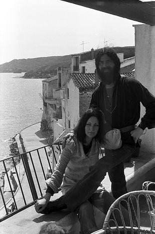 Robert, Bob, & Jutta_1rst aprtment_1975.