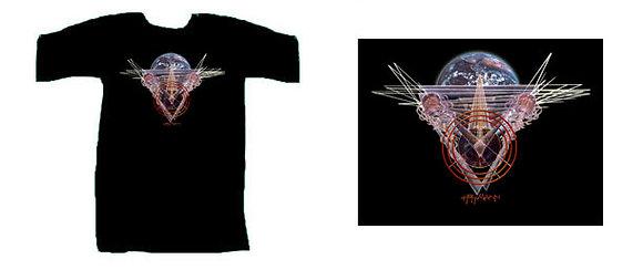 Mh Women's T-Shirt, black - 'Messenger Earth'