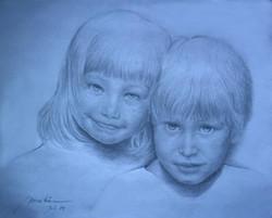Portrait of Hemeln Girls