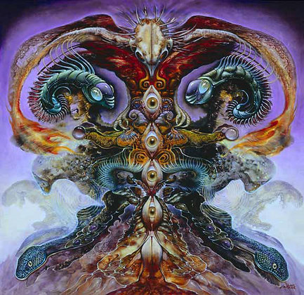 MH Limited Edition Print on Canvas - TREE OF KNOWLEDGE