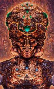 Hallucinogenic Self Potrait