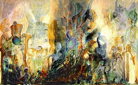 RV Limited Edition Print on Canvas - AYAHUASCA DREAM