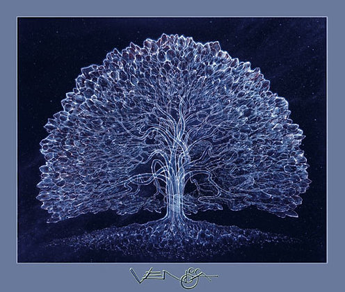 CELESTIAL TREE - RV Poster