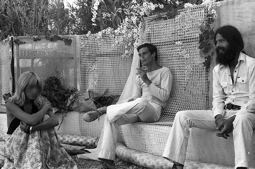 Robert Venosa & friends in Dali's garden