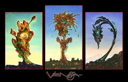 TRES FLORES - RV Poster