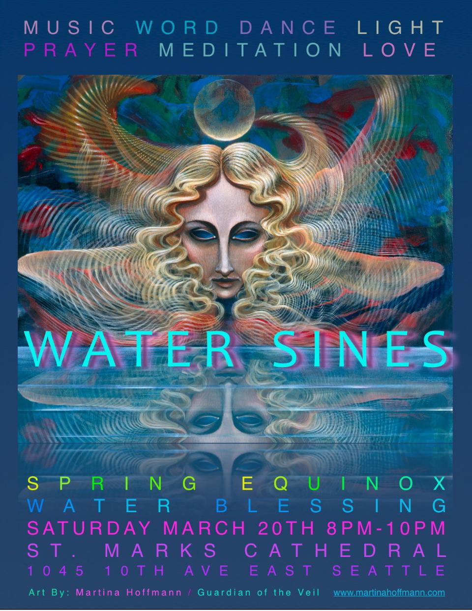 'Water Sines'- Sidney Genet