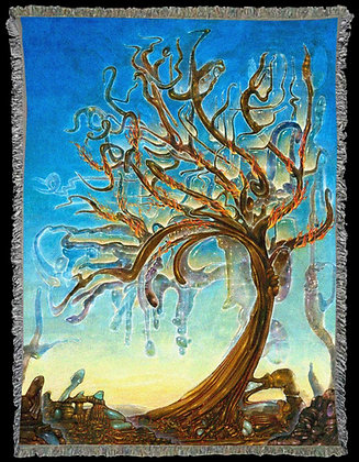 RV Art Blanket - 'Arbol de Luz'