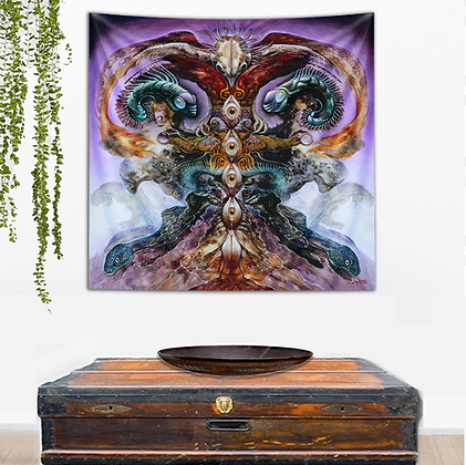 MH -Tapestry - TREE OF KNOWLEDGE - Small Size