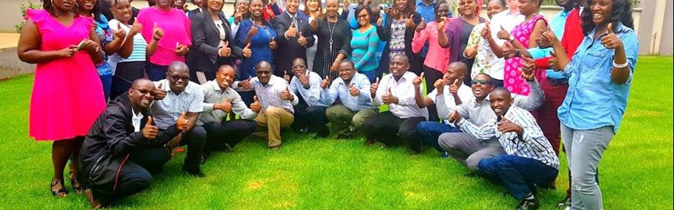 After a session in Kenya