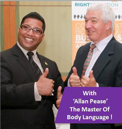 With Allan Pease