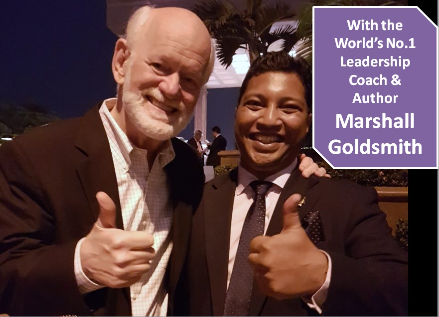 With Marshall Goldsmith