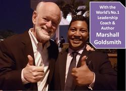 With Marshall Goldsmith