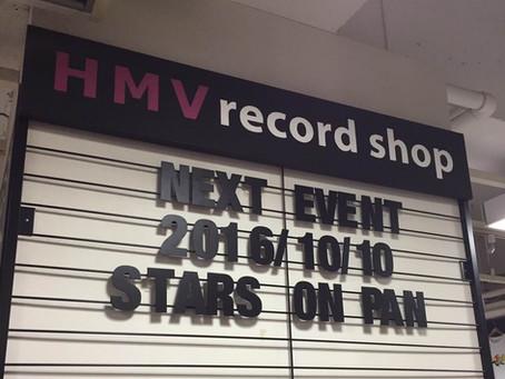 2016.10.10 渋谷HMV record shopインストアライブ