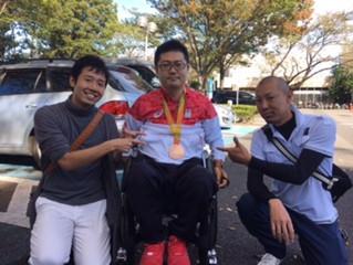 リオパラリンピック銅メダルリスト 岸選手!!