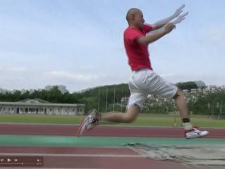 幅跳び練習 第2回目
