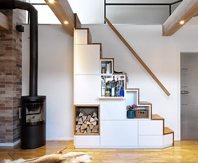 Treppenschrank Schreinerei Holder GmbH