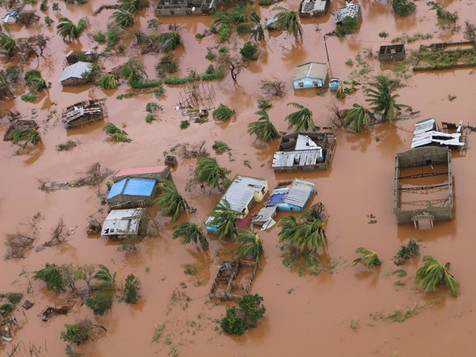 Tratamento dado pelo Profissão Repórter ao ciclone de Moçambique