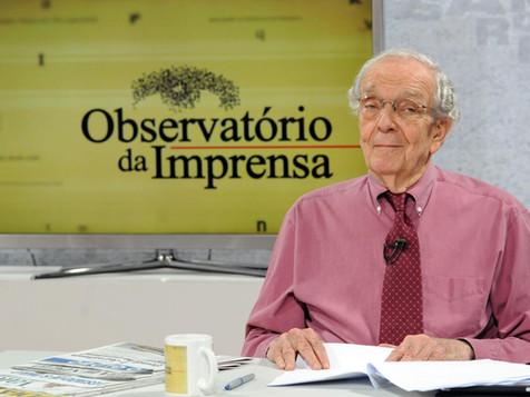 Morre o jornalista e fundador do Observatório da Imprensa, Alberto Dines