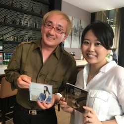 With Makoto Kuriya-san
