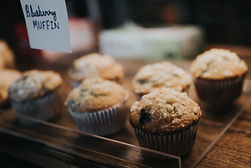 Fresh and in house baked pastries, muffins and cakes are a must! Come try our famous blueberry muffins to pair perfectly with a cup of fresh daily brew
