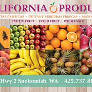 California Produce Stand, Monroe, WA