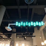 Duffleboard Sign, Flatstick Pub, Spokane, WA