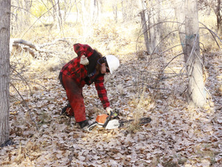 Western Colorado Conservation Corps Improves Habitat at Grand Junction Wildlife Area