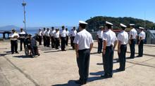 Cerimônia de desembarque do 1° Sargento da Marinha Washington Espindola