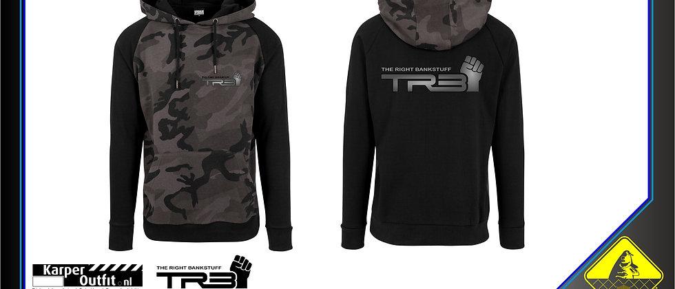 TRB Hoodie Black/Grey Camou