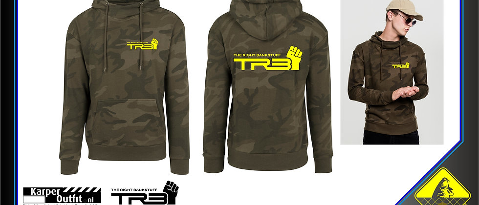 TRB Hoodie Green  Camou