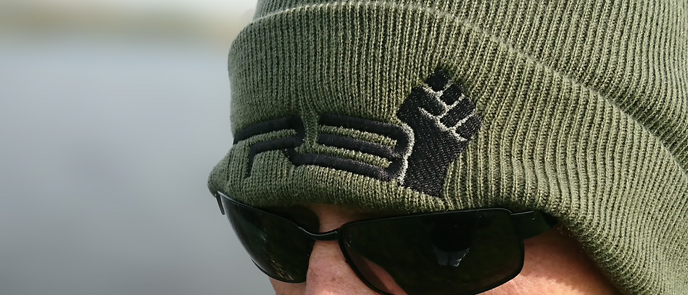 Wool Beanie with embroidered TRB Logo
