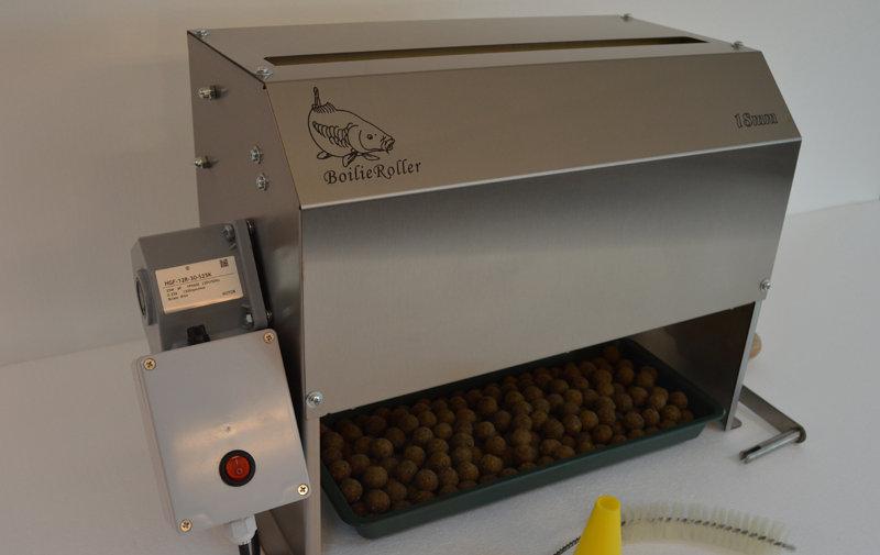 Boilieroller / Schaalroller  Boiliemachine+Motor