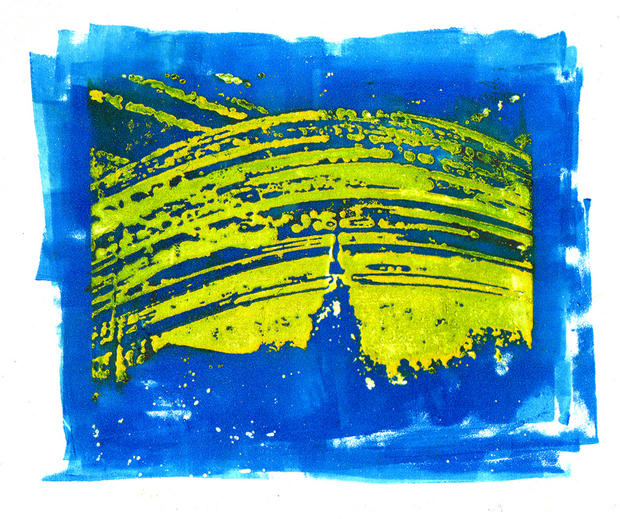 Solargraph photoetching